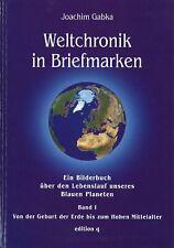 Joachim Gabka: Weltchronik in Briefmarken (Band 1–3 kpl.)