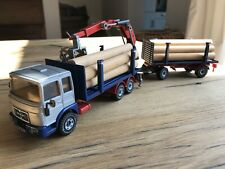 Siku Man Truck With Trailer And Load