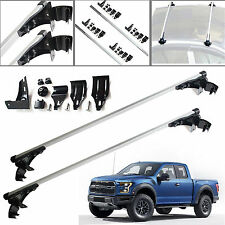 "2xFor Ford F-150 F-350 F-450 47"" Car Top Luggage Bar Roof Rack Carrier Skidproof"