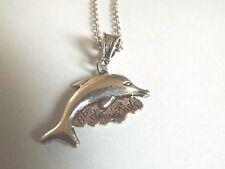 collier 46 cm avec pendentif dauphin best friends