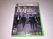 The Beatles Rockband (Microsoft Xbox 360) Original Release Complete Nr Mint!
