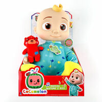 CoComelon MUSICAL BEDTIME JJ Soft Body Doll & Plush Teddy Bear SINGS YES YES New