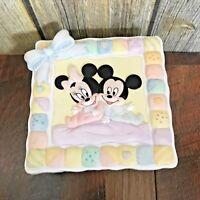 Disney Mickey Minnie Nursery Keepsake Trinket Box Bisque ABC Baby Jewelry