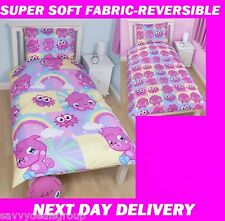 MOSHI MONSTERS DUVET DOONA QUILT COVER SET,REVERSIBLE,GENUINE PRODUCT,AUS STOCK