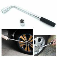 Car Wheel Wrench Brace Telescopic Van Socket Tyre Nut 17 19 21 23mm Set
