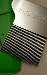 NISSKA Comb Lice Nit Stainless Steel Rid Headlice metal teeth German engineered