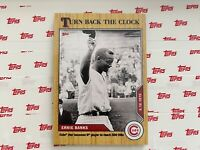 2020 MLB TOPPS NOW Turn Back the Clock #43 Ernie Banks Chicago Cubs