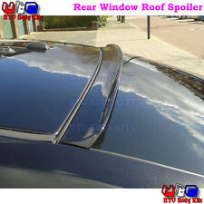 Painted B Rear Window Roof Spoiler For EUR Toyota Corolla Altis 2009~13 Sedan