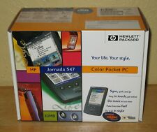 HP Jornada 547 Color Pocket PC NEW IN SEALED BOX