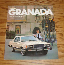 Original 1981 Ford Granada Sales Brochure 81 GLX GL L