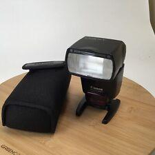 Canon 430EX II Flash in Case Used EX