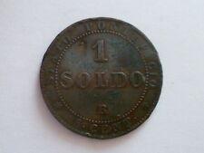 STATO PONTIFICIO PIO IX 1867 UN SOLDO R 1