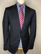 MASSIMO DUTTI LUXURY DESIGNER SUIT PIN STRIPED SUPER 130's MODERN FIT 42x38x34