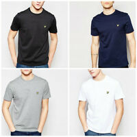 Mens Lyle and Scott Short Sleeve Polo Crew Neck T Shirt