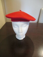 Kangol Red beret Hat One Size