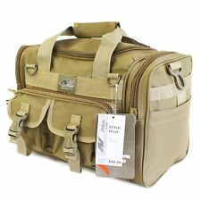 Tactical Duffel Military Molle Ammo Gun Pistol Gear Shoulder Strap Range Bag NEW