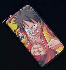 ANIME OP One Piece LUFFY Ladies Purse Wallet Anime Gift Manga
