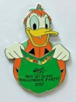 Disney Pin Badge Halloween MNSSHP 2017 Mystery Collection - Pumpkin Donald Duck