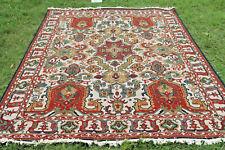 Turkish Kilim Dhurrie Afghan Oriental Area Rug 9x12 Soumak Hand Woven Wool Rug