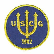 USCG 1982 trident USS OHIO escort 1982 W1225 USCG Coast Guard patch