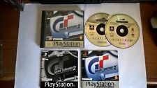 Gran Turismo 2 Sony Playstation 1 PS1 Video Game Complete PAL Manual VGC