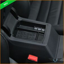 VW Golf 7 VII Armlehne Lagerung Aufbewahrungs Kiste Becher Hälter Ablage Zubehör