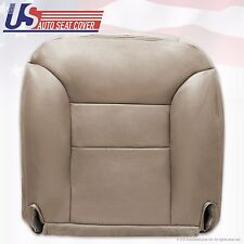 "1995 to 1999 Chevy Tahoe Suburban Left Front Side Vinyl Bottom Seat Cover ""Tan"""