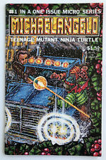 MICHAELANGELO Teenage Mutant Ninja Turtles # 1 Micro Series Comic Book 1985 TMNT