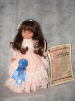 Old German Made Factory 1989 Made Lissi Doll Of The Year ~ Brown glass eyes
