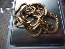 """18CT GOLD FRANCO CHAIN 24"""" LONG 10.55 GRAMS LONG CHAIN NOT 9CT GOLD not scrap"""