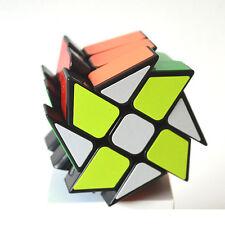 Hot 3x3x3 wheels Rubiks Speed Puzzle ABS Magic Smooth Rubic Pro Twist Cube Black