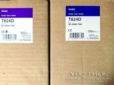 Epson Genuine T824D / CT13T824DOO Violet Cartridges for SP-P7000V / SP-9000
