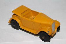 1940's Dinky #35d Austin 7 Convertible, Yellow Nice Original