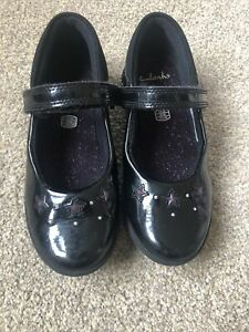 Clarks Girls School Shoes 12g