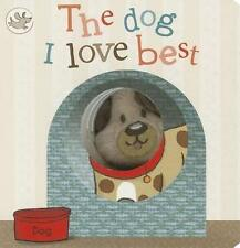 The Dog I Love Best Finger Puppet Book (Little Learners)-ExLibrary