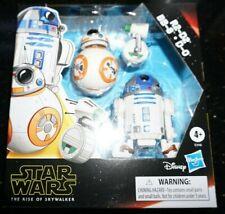 """Star Wars Galaxy Adventure 5"""" Rise of Skywalker Episode IX R2-D2 BB-8 D-0 DROIDS"""