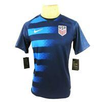 Nike Mens USA Soccer 2018 Away Jersey Blue 893901-410 Crew Neck S New