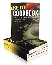 New ListingKeto Diet Cookbook 60+ Recipes Pdf Ebook with Master Resell Rights