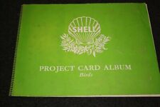 Shell Project Card Album Birds Complete Set