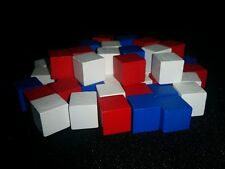 10mm Colored Wooden Cubes