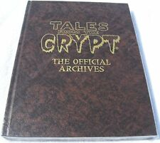 Tales from the Crypt Official Archives Rare Brown HC EC