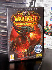 WOW CATACLYSM EXPANSION GIOCO ONLINE PC DVD-ROM NUOVO