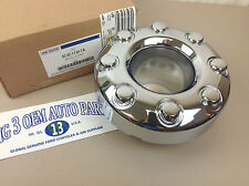 2005-2011 Ford F-350 F-450 Super Duty 4x4 open Front Chrome Center Cap 8-lug