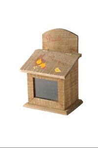 Scatola contenitore in legno porta dadi Poulet