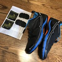 Shimano SH-CT71L Mens Size 6.7 40 Black Blue Mountain Bike Cycling Bicycle Shoes