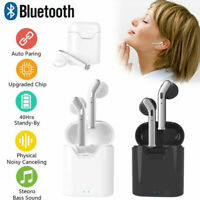 Waterproof Bluetooth 5.0 Earbuds Headphones Wireless Headset Noise Cancelling