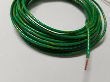 14 AWG GREEN W/YELLOW THHN THWN-2 THWN STRANDED COPPER WIRE 100 FEET GROUND