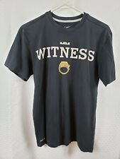 RARE Nike Lebron James Black Championship Ring Witness SS T-Shirt Size Small