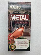 Malibu Landscape Flood light  Cs180c  Canterbury series Copper New!