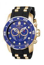 Invicta Men's Watch Pro Diver Scuba Chronograph Blue Dial Two Tone Strap 6983